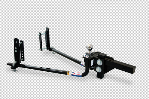 Fastway Trailer e2 6K round-bar weight distributing hitch with built-in sway control. 94-00-0600