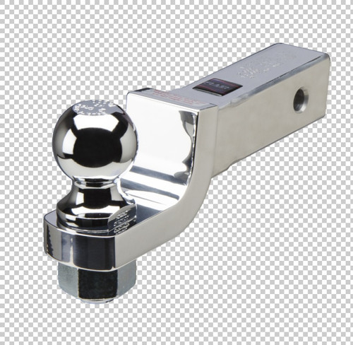 Fastway Trailer Fixed aluminum ball mount with a 2'' drop 1'' rise with a 1'' ball hole DT-BM4200