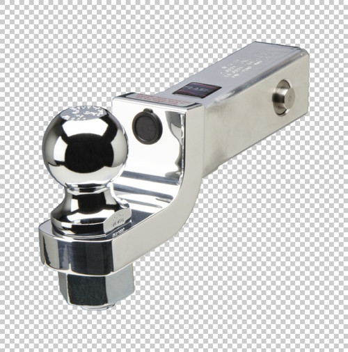 Fastway Trailer Alum ball mount with integrated lock system 2'' drop 1'' rise, 1-1/4'' ball hol DT-LBM9200