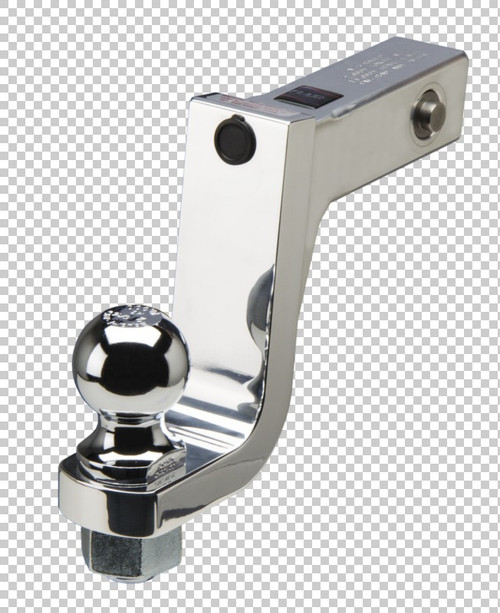 Fastway Trailer Alum ball mount with integrated lock system 6'' drop 5'' rise, 1-1/4'' ball hol DT-LBM9600