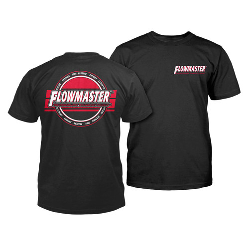 Flowmaster Flowmaster Technology Performance T-Shirt in Black - Large 610352