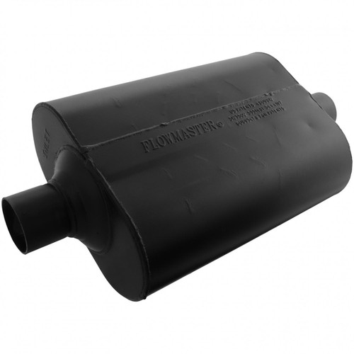 Flowmaster Super 40 Muffler - 2.25 Center In / 2.25 Center Out - Aggressive Sound 952445