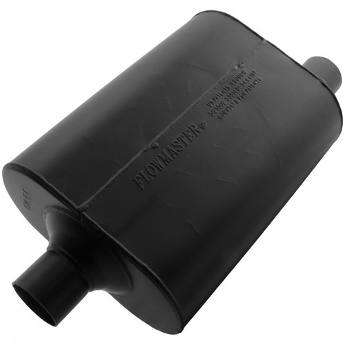 Flowmaster Super 40 Muffler - 2.25 Center In / 2.25 Offset Out - Aggressive Sound 952447