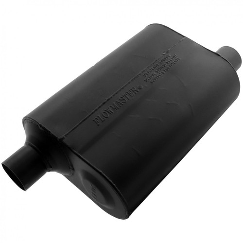 Flowmaster Super 40 Muffler - 2.25 Offset In / 2.25 Offset Out - Aggressive Sound 952448