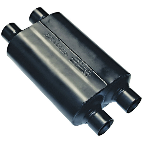 Flowmaster Super 40 Muffler - 2.50  Dual In / 2.50 Dual Out - Aggressive Sound 9525454