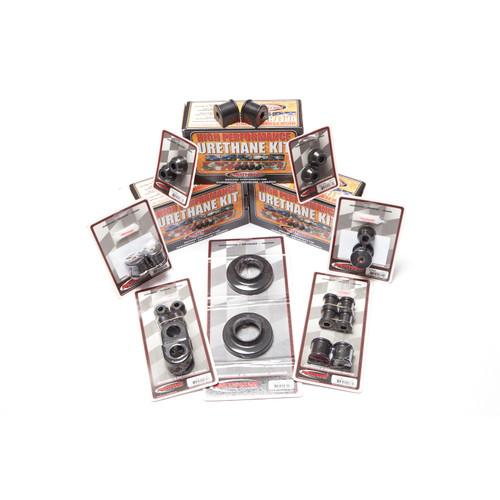 Rugged Ridge Polyurethane Bushing Kit, Black; 97-06 Jeep Wrangler TJ 1-2006BL