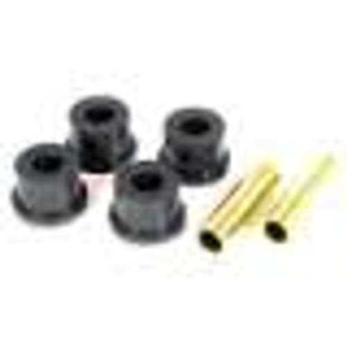 Rugged Ridge Shackle Bushing Kit, Black; 84-99 Jeep Cherokee XJ 1-804BL