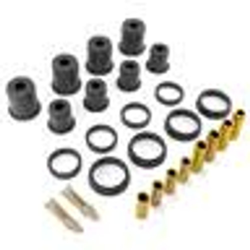 Rugged Ridge Shackle Bushing Kit, Black; 55-75 Jeep CJ5 1-805BL
