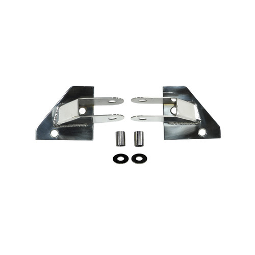 Rugged Ridge Mirror Relocation Brackets, Stainless Steel; 87-95 Jeep Wrangler YJ 11026.01