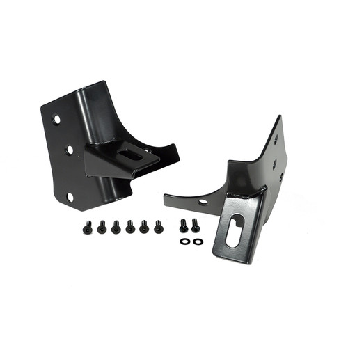 Rugged Ridge Windshield Auxiliary Light Mounting Brackets; 97-06 Jeep Wrangler TJ 11027.02
