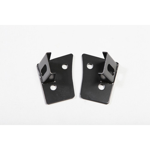 Rugged Ridge Windshield Auxiliary Light Mounting Brackets; 07-16 Jeep Wrangler JK 11027.03