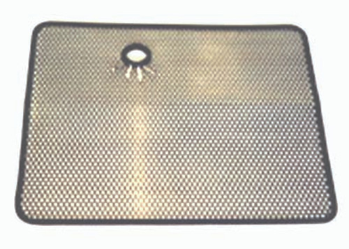 Rugged Ridge Radiator Bug Shield, Stainless Steel; 87-95 Jeep Wrangler YJ 11106.02