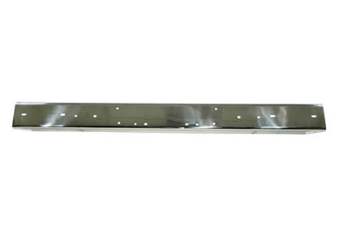 Rugged Ridge Stainless Steel Front Bumper Without Holes; 97-06 Jeep Wrangler TJ 11107.05