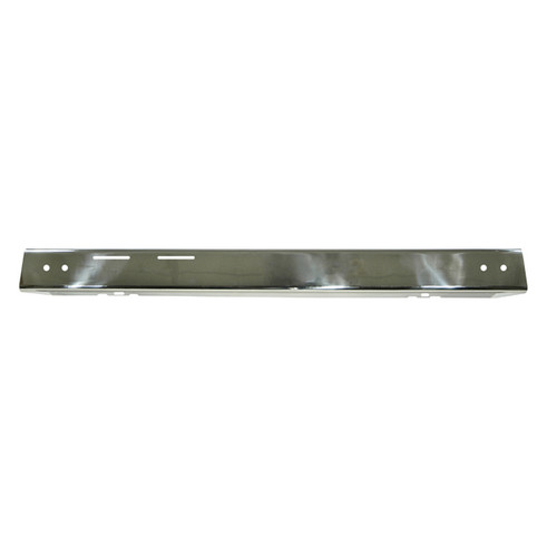 Rugged Ridge Front Bumper Overlay, Stainless Steel; 87-95 Jeep Wrangler YJ 11109.02