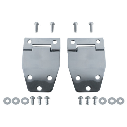 Rugged Ridge Hardtop Liftgate Hinge Kit, Stainless Steel; 76-86 Jeep CJ Models 11115.01