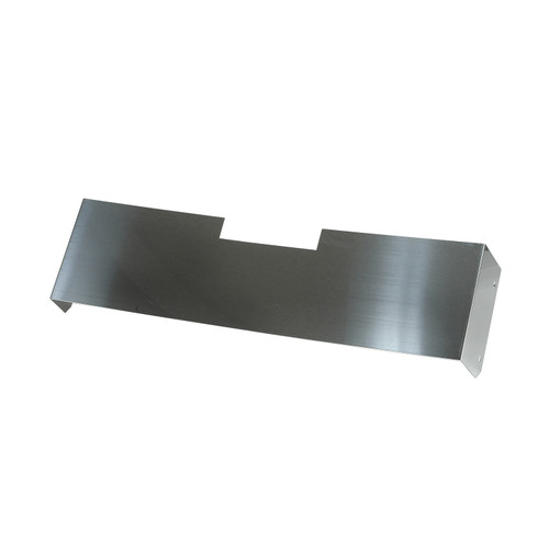 Rugged Ridge Front Frame Cover, Stainless Steel; 76-86 Jeep CJ Models 11120.01