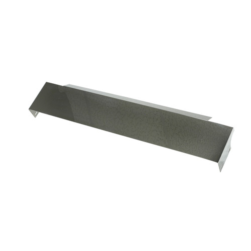 Rugged Ridge Front Frame Cover, Stainless Steel; 87-95 Jeep Wrangler YJ 11120.02