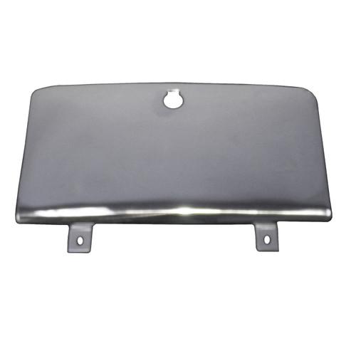 Rugged Ridge Glove Box Door, Stainless Steel; 76-86 Jeep CJ Models 11125.01