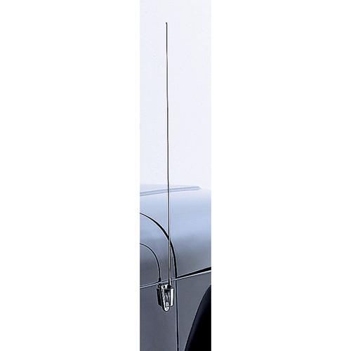 Rugged Ridge Antenna Mast and Base, Stainless Steel; 97-06 Jeep Wrangler TJ/LJU 11131.01