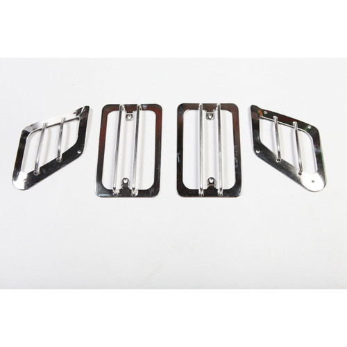Rugged Ridge Euro Guard Set, Stainless Steel; 97-06 Jeep Wrangler TJ 11142.02