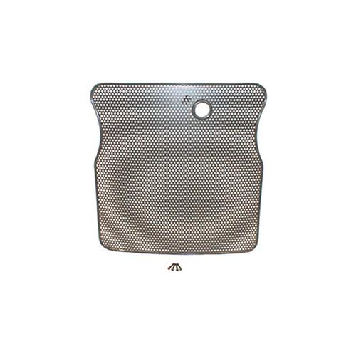 Rugged Ridge Radiator Bug Shield, Black; 55-86 Jeep CJ Models 11213.02