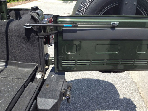 Rugged Ridge Tailgate Assist Kit; 07-10 Jeep Wrangler JK 11252.55