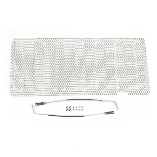 Rugged Ridge Grille Insert, Satin Stainless Steel; 07-16 Jeep Wrangler JK 11401.22
