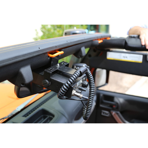 Rugged Ridge CB Radio Mount; 07-16 Jeep Wrangler JK 11503.95