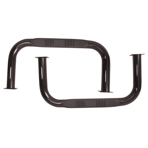 Rugged Ridge Nerf Bars, Black; 55-75 Jeep CJ5 11504.01