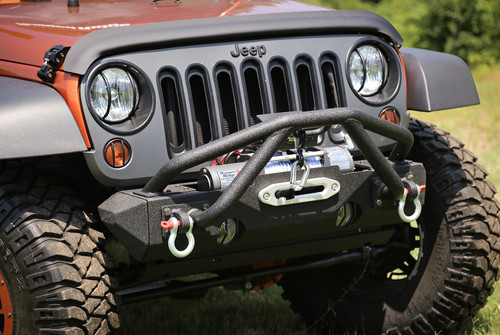 Rugged Ridge Double X Striker, Black; 76-86 Jeep CJ/87-16 Wrangler YJ/TJ/JK 11540.25