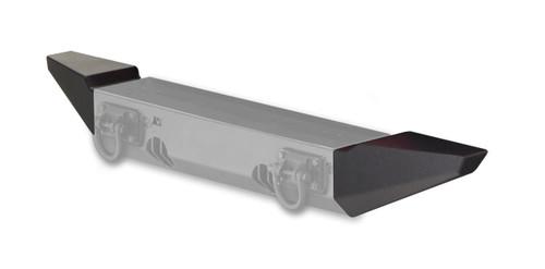 Rugged Ridge Standard Bumper Ends, XHD Front Bumper; 76-06 Jeep CJ/Wrangler YJ/TJ 11540.42