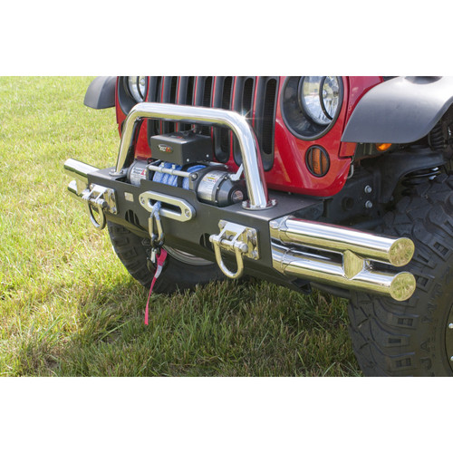 Rugged Ridge XHD Modular Tubular Ends, Stainless Steel; 07-16 Jeep Wrangler JK 11540.73