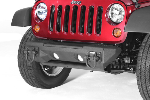 Rugged Ridge All Terrain Stubby Bumper Ends; 07-16 Jeep Wrangler JK 11542.23