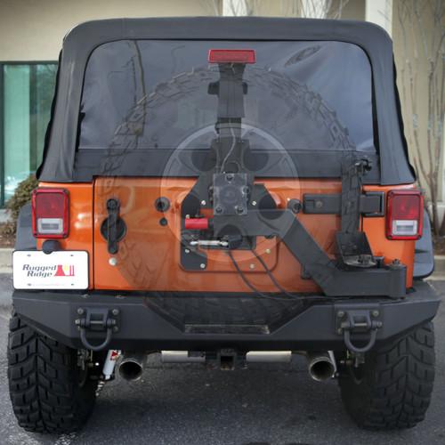 Rugged Ridge XHD Gen II Swing and Lock Tire Carrier; 07-16 Jeep Wrangler JK 11546.25