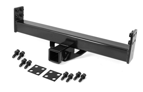 Rugged Ridge 2 Inch Hitch for XHD Rear Bumper; 76-06 Jeep CJ/Wrangler YJ/TJ 11580.03