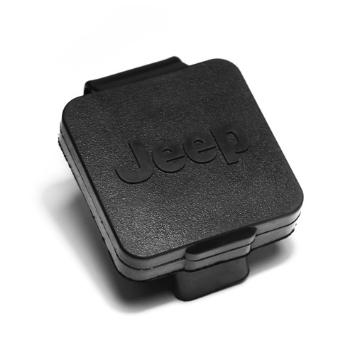 Rugged Ridge 2 Inch Hitch Plug, Jeep Logo 11580.25