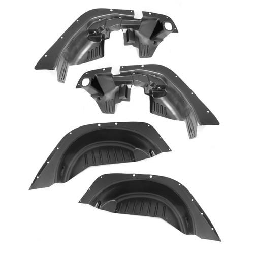 Rugged Ridge 4 Piece Inner Fender Liner Kit; 07-16 Jeep Wrangler JK 11620.50