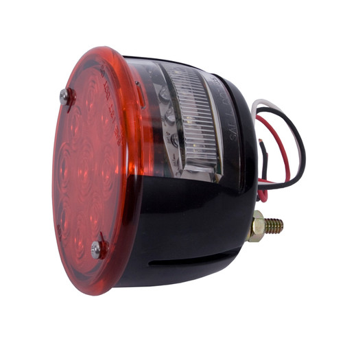 Rugged Ridge LED Tail Light Assembly, Left Side; 46-75 Willys/Jeep CJ Models 12403.81