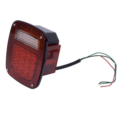 Rugged Ridge LED Tail Light Assembly, Right Side; 76-06 Jeep CJ/Wrangler YJ/TJ 12403.82
