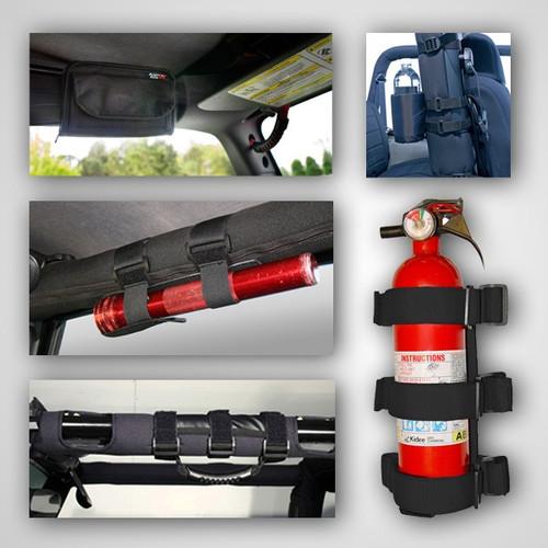 Rugged Ridge Interior Sport Bar Accessory Kit; 76-06 Jeep CJ/Wrangler YJ/TJ 12495.01