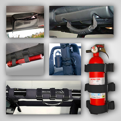 Rugged Ridge Interior Sport Bar Accessory Kit; 07-16 Jeep Wrangler JK 12496.01