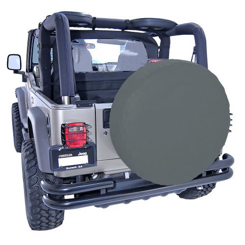 Rugged Ridge 30-32 Inch Tire Cover, Black Denim 12802.15