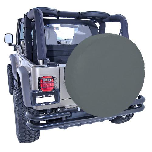 Rugged Ridge 33 Inch Tire Cover, Black Denim 12803.15