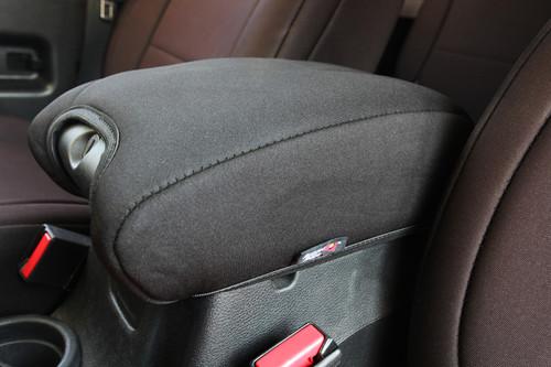 Rugged Ridge Neoprene Arm Rest Cover And Pad; 11-16 Jeep Wrangler JK 13108.01