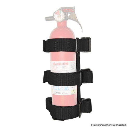 Rugged Ridge Sport Bar Fire Extinguisher Holder, Black; 55-16 CJ/Wrangler YJ/TJ/JK 13305.21