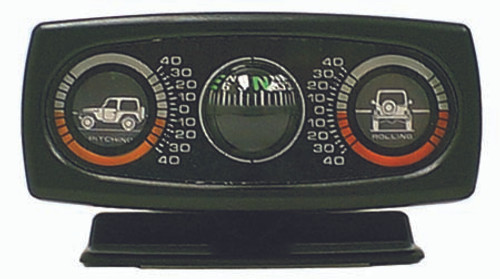 Rugged Ridge Clinometer with Compass, Universal 13309.01
