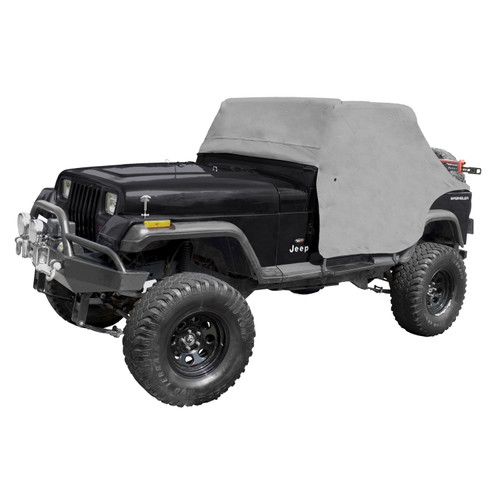 Rugged Ridge Cab Cover, Gray; 87-91 Jeep Wrangler YJ 13310.09