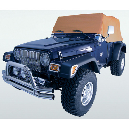 Rugged Ridge Cab Cover, Spice; 92-06 Jeep Wrangler YJ/TJ 13316.37