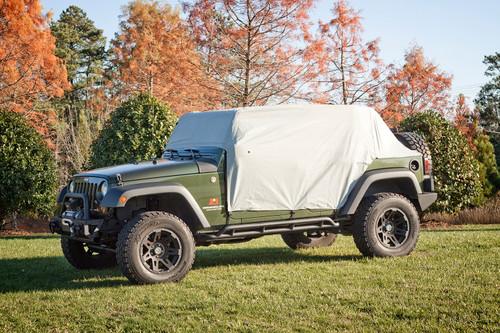 Rugged Ridge Weather Lite Cab Cover; 07-16 Jeep Wrangler JKU 13318.10