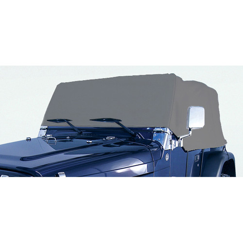 Rugged Ridge Deluxe Cab Cover; 76-06 Jeep CJ/Wrangler YJ/TJ 13321.02
